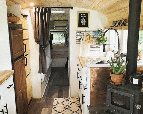Cozy Bus Conversion