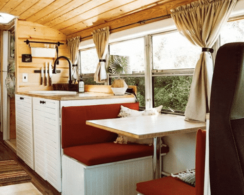 Cozy Cabin Skoolie Conversion
