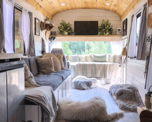 Shiplap Bus Conversion