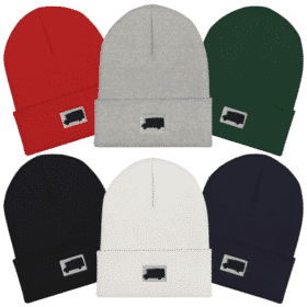 Skoolie Bus Life Bus Silhouette Beanie Hat Collage Unisex